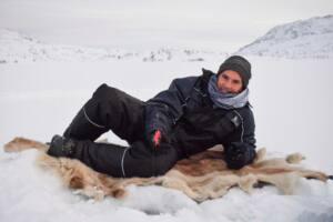 O que fazer no Ártico - pesca no gelo