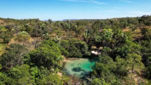 Poço do Paraíso, Aurora do Tocantins