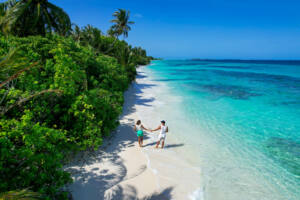 Ilha local - Maldivas - Dhigurah